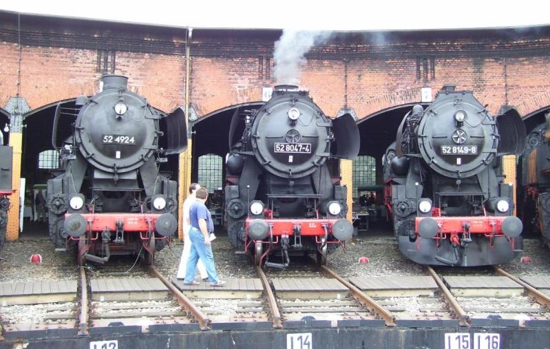 Die BR 52 - die Kriegslok - und BR 52.80 sowie Kohlestaub-52 Br5210