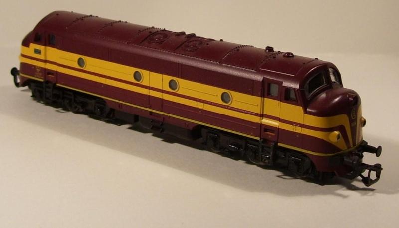Die Diesellokbaureihe 1600 der CFL Cfl-210