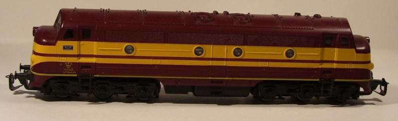 Die Diesellokbaureihe 1600 der CFL Cfl-410