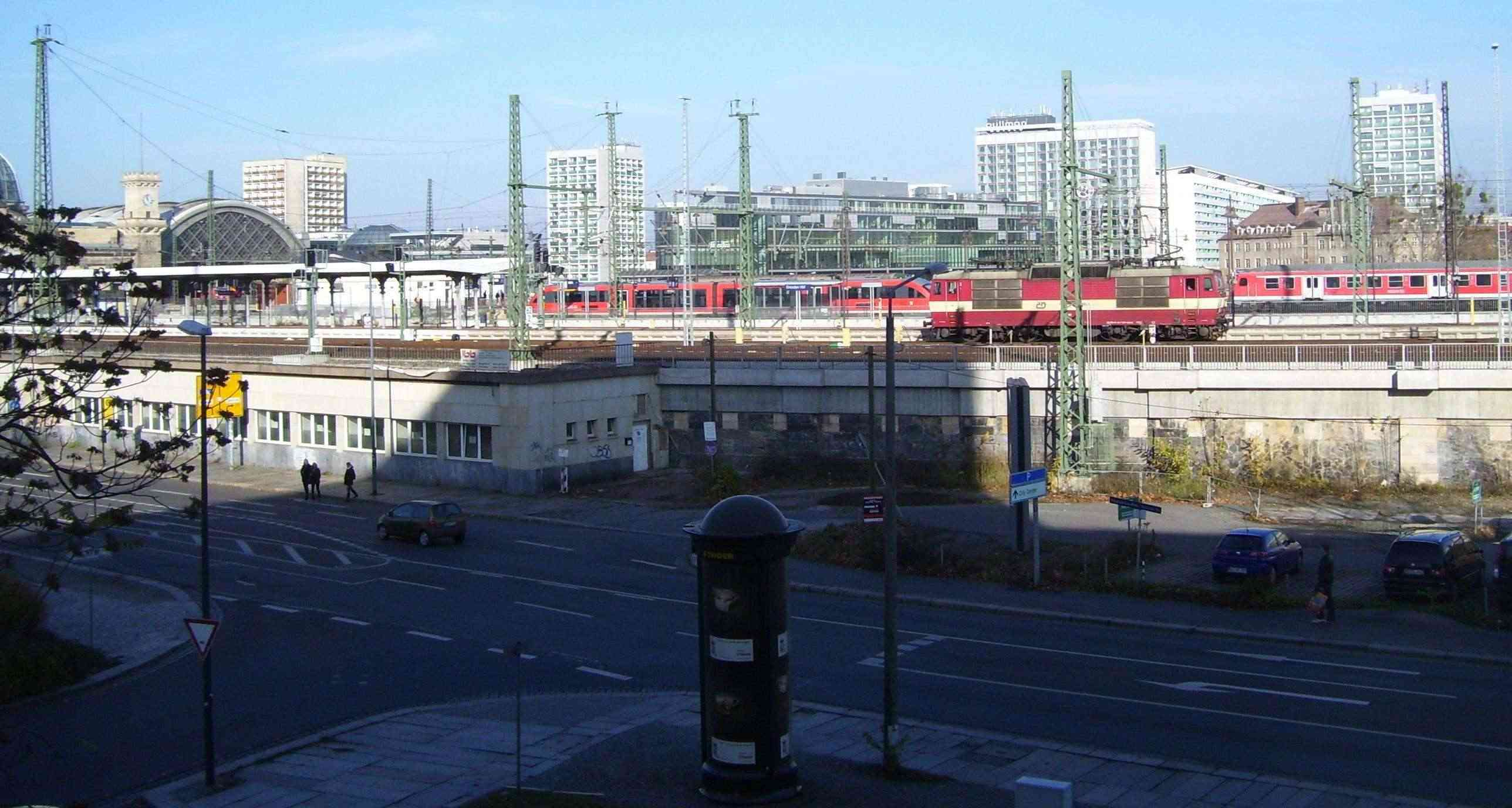 Meine Bilder von der modernen Bahn Dd-hbf10