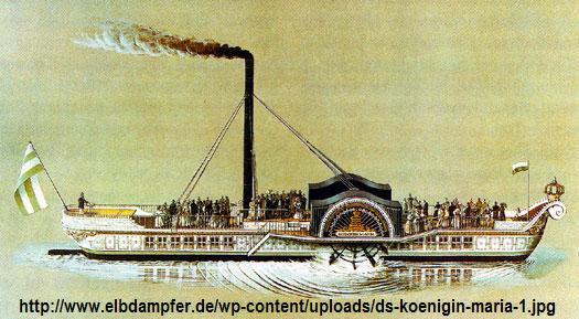 """Dampfmaschine des Dampfbootes """"Königin Maria"""" von 1837 - M1:15 Dkm-210"""