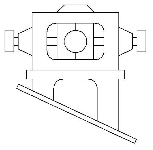 """Dampfmaschine des Dampfbootes """"Königin Maria"""" von 1837 - M1:15 Dkm-2110"""
