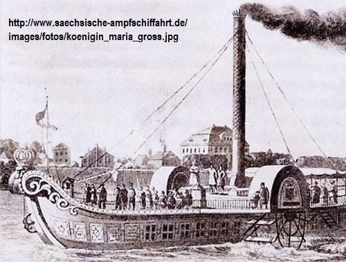 """Dampfmaschine des Dampfbootes """"Königin Maria"""" von 1837 - M1:15 Dkm-311"""