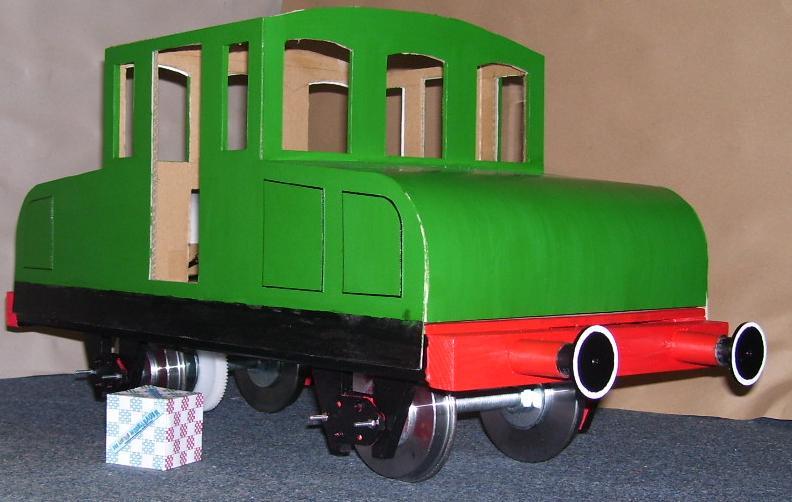 ... Umbau einer H0 Baldwin Switcher von Walters Modell..... E69-6510