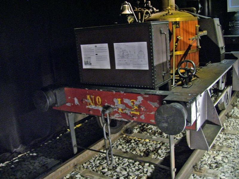"""""""Gamle Ole"""" - auf der Sonderausstellung im DB-Museum Nürnberg Gamleo12"""