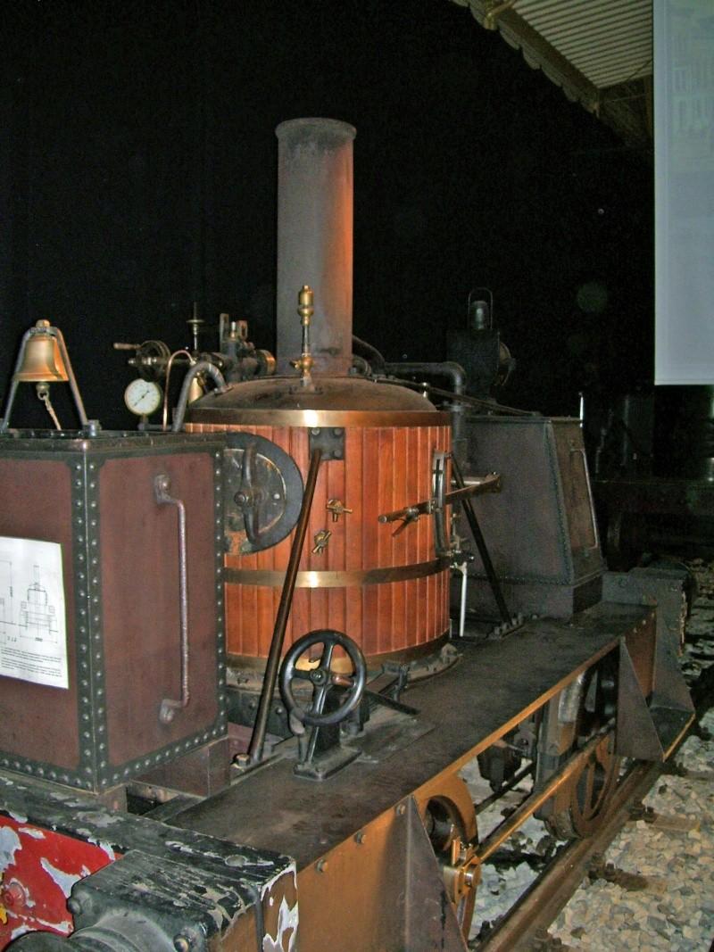 """""""Gamle Ole"""" - auf der Sonderausstellung im DB-Museum Nürnberg Gamleo14"""