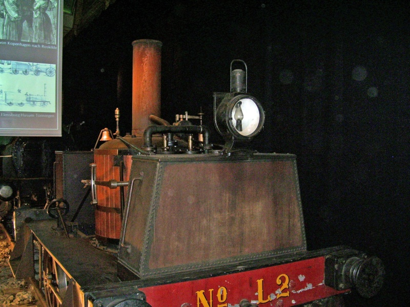"""""""Gamle Ole"""" - auf der Sonderausstellung im DB-Museum Nürnberg Gamleo25"""