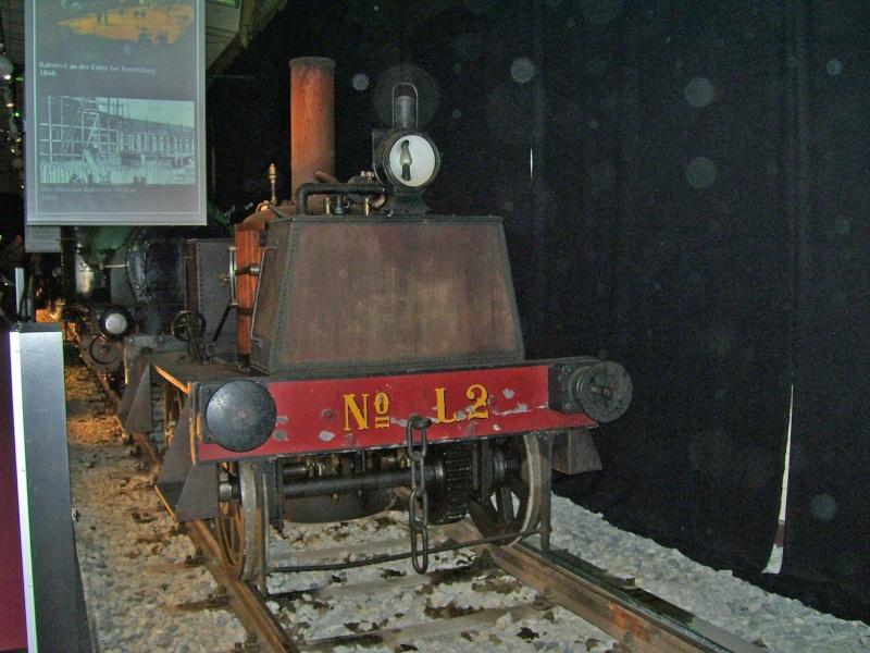 """""""Gamle Ole"""" - auf der Sonderausstellung im DB-Museum Nürnberg Gamleo29"""