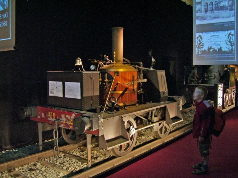 """""""Gamle Ole"""" - auf der Sonderausstellung im DB-Museum Nürnberg Gamleo30"""