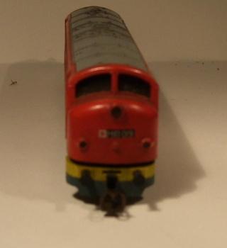 Die Diesellokbaureihe 1600 der CFL M61-310