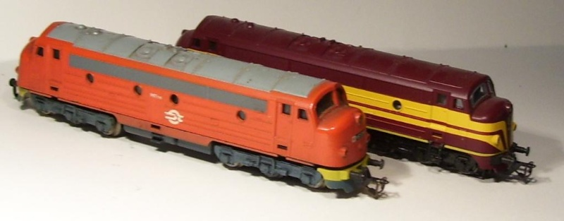 Die Diesellokbaureihe 1600 der CFL M61-cf10