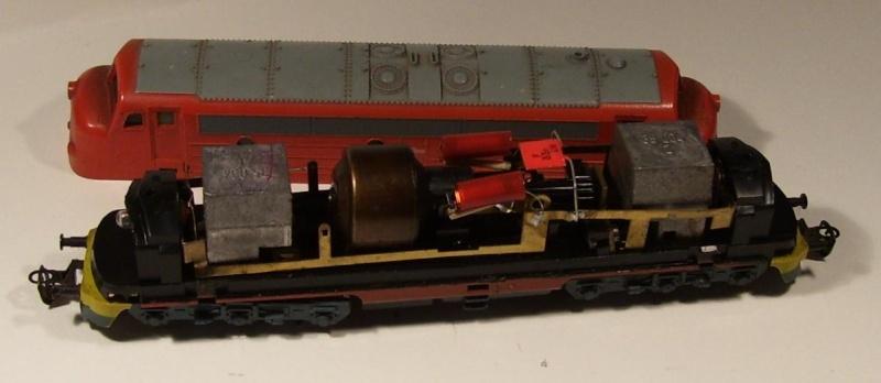 Die Diesellokbaureihe 1600 der CFL M6110