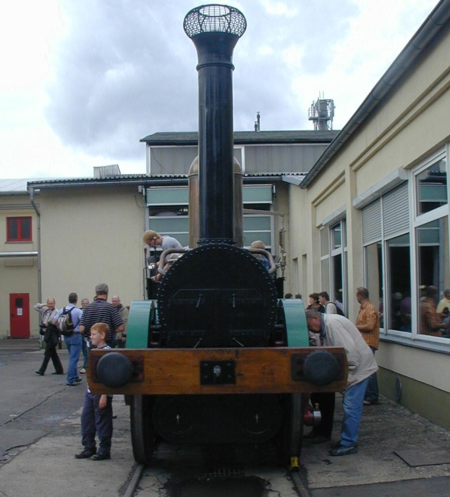 "Dampflok ""Saxonia"" - Detailbilder Sax-1010"