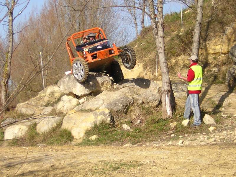 Trial buggy à Saint-Laurent d'Arce 4x210