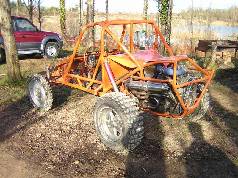 Trial buggy à Saint-Laurent d'Arce Buggy-10