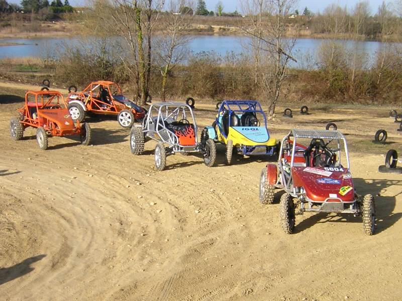 Trial buggy à Saint-Laurent d'Arce Concur10