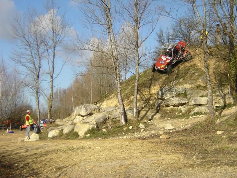 Trial buggy à Saint-Laurent d'Arce Descen10