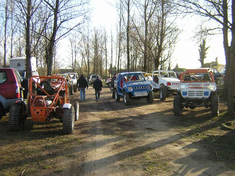 Trial buggy à Saint-Laurent d'Arce Park9h10