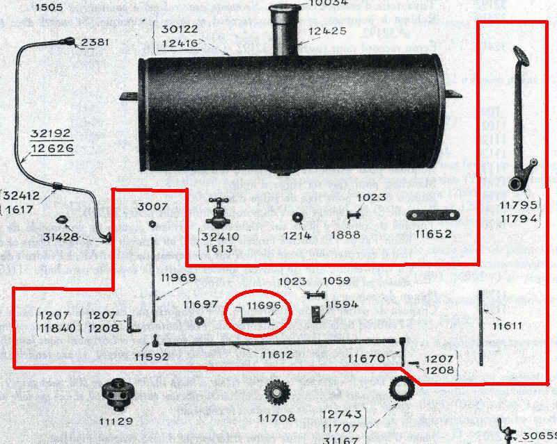 Commande d'accélérateur Trefle12