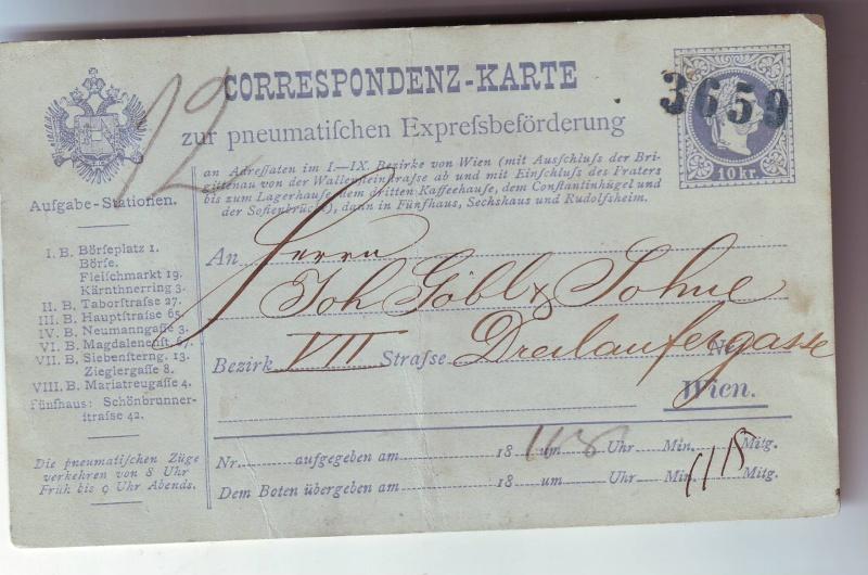 Stempel einer (WELCHEN?) Wr. Rohrpoststation? Scan1094