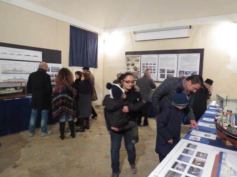 31 gen/28 feb 2016 - ATTRAVERSO LO STRETTO, mostra di modellismo navale ed esposizione di cimeli, documenti ed immagini Img_8315