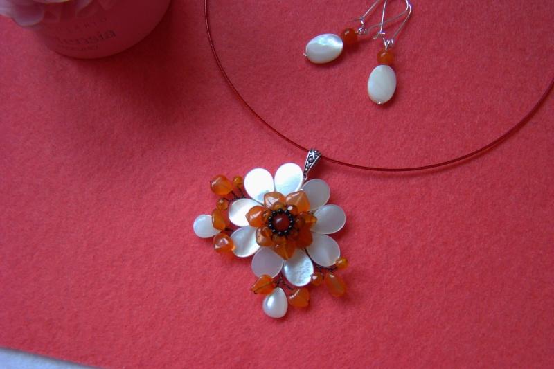 """""""Flori de piatră-Bijoux"""" albumul I-bijuterii artizanale marca Didina Sava - Pagina 7 Colie117"""