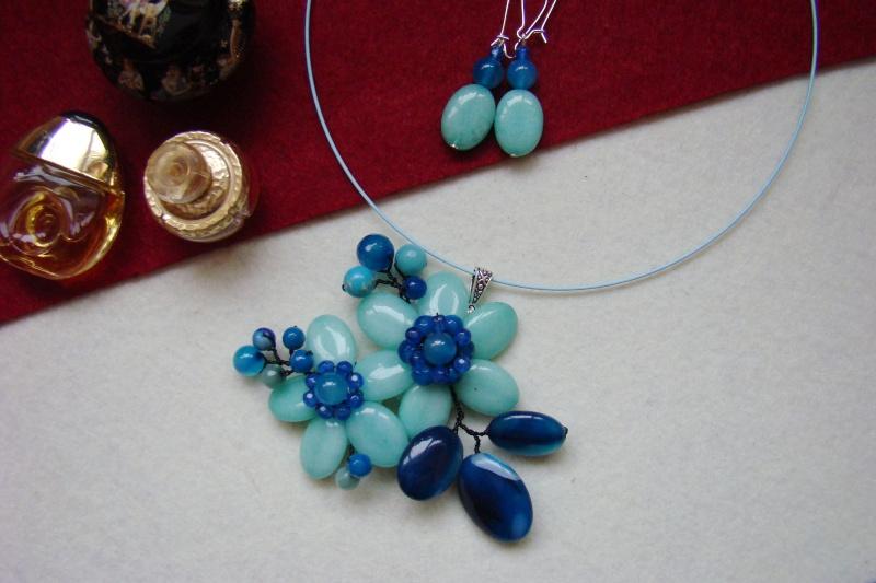 """""""Flori de piatră-Bijoux"""" albumul I-bijuterii artizanale marca Didina Sava - Pagina 7 Colie124"""