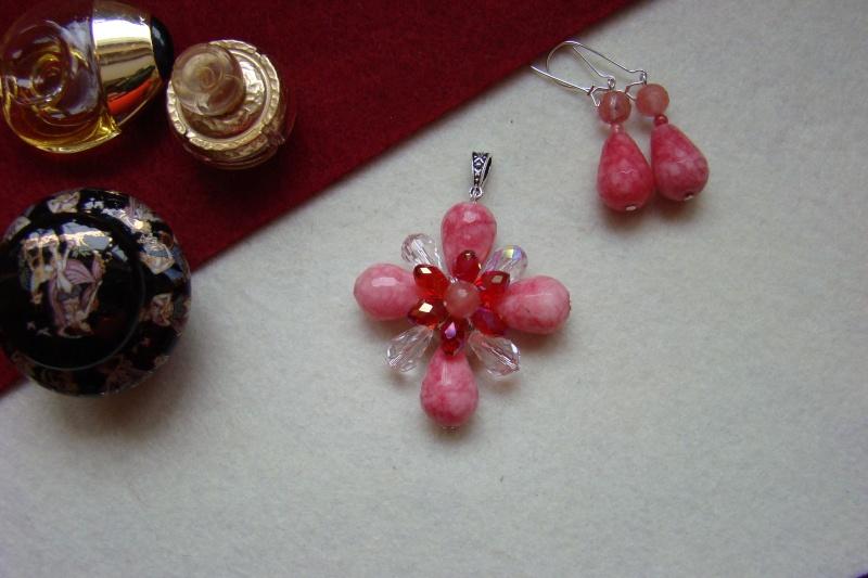 """""""Flori de piatră-Bijoux"""" albumul I-bijuterii artizanale marca Didina Sava - Pagina 7 Colie126"""