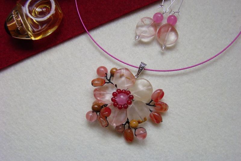 """""""Flori de piatră-Bijoux"""" albumul I-bijuterii artizanale marca Didina Sava - Pagina 6 Colie141"""
