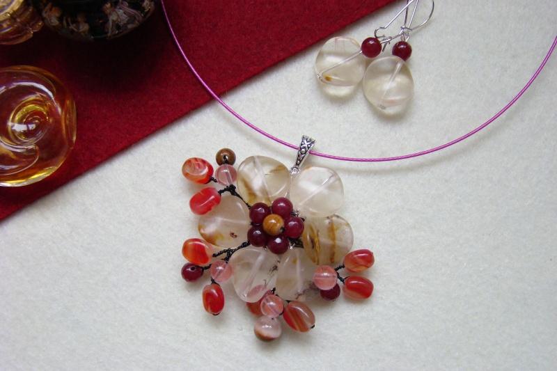 """""""Flori de piatră-Bijoux"""" albumul I-bijuterii artizanale marca Didina Sava - Pagina 6 Colie143"""