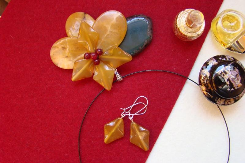 """""""Flori de piatră-Bijoux"""" albumul I-bijuterii artizanale marca Didina Sava - Pagina 6 Colie149"""