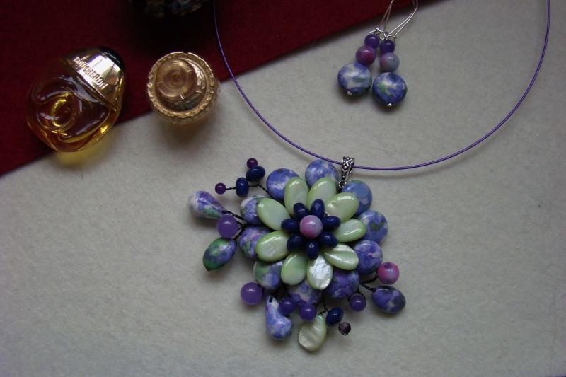 """""""Flori de piatră-Bijoux"""" albumul I-bijuterii artizanale marca Didina Sava - Pagina 6 Colie155"""