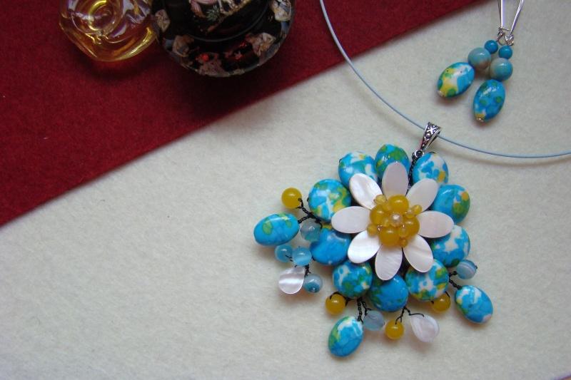 """""""Flori de piatră-Bijoux"""" albumul I-bijuterii artizanale marca Didina Sava - Pagina 6 Colie158"""