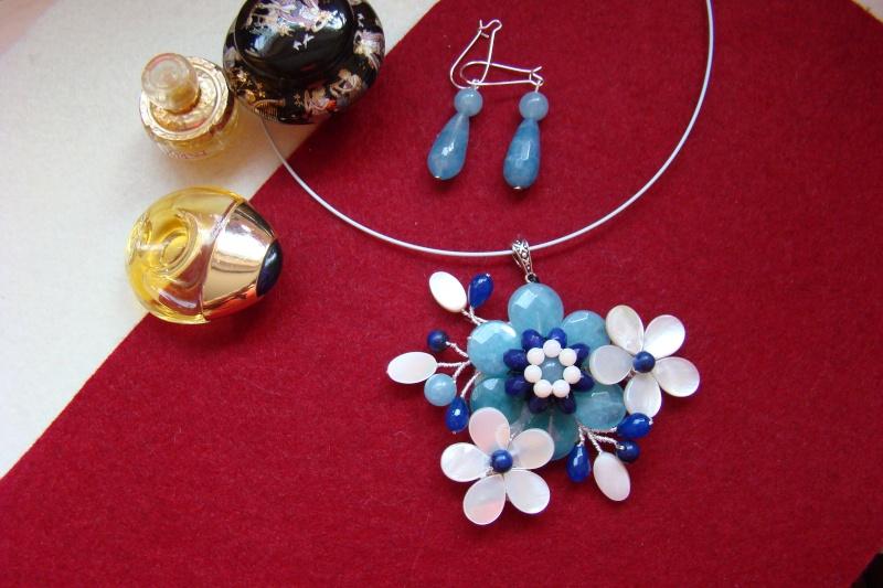 """""""Flori de piatră-Bijoux"""" albumul I-bijuterii artizanale marca Didina Sava - Pagina 6 Colie165"""