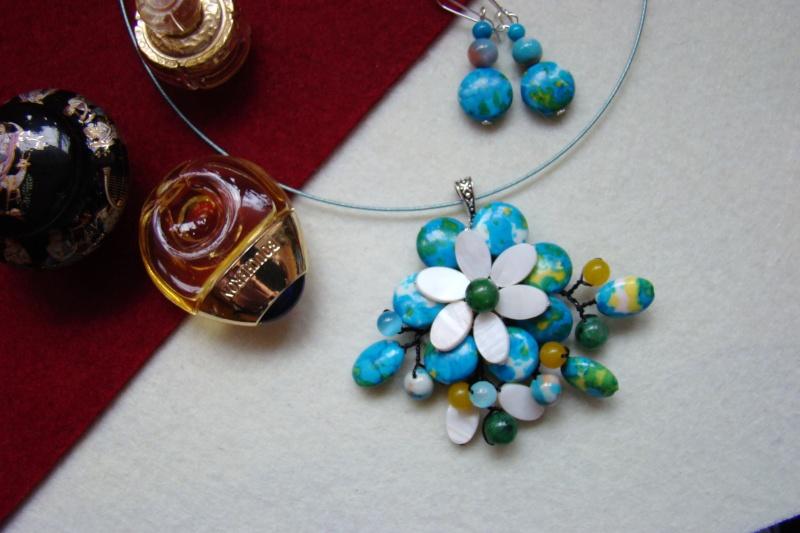 """""""Flori de piatră-Bijoux"""" albumul I-bijuterii artizanale marca Didina Sava - Pagina 6 Colie169"""