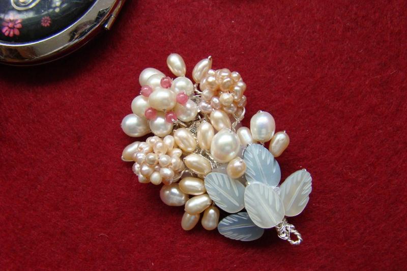 """""""Flori de piatră-Bijoux"""" albumul I-bijuterii artizanale marca Didina Sava - Pagina 6 Colie183"""
