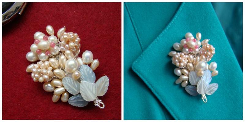 """""""Flori de piatră-Bijoux"""" albumul I-bijuterii artizanale marca Didina Sava - Pagina 6 Colie184"""