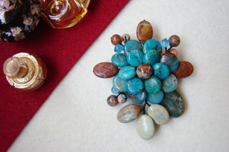 """""""Flori de piatră-Bijoux"""" albumul I-bijuterii artizanale marca Didina Sava - Pagina 6 Colie186"""