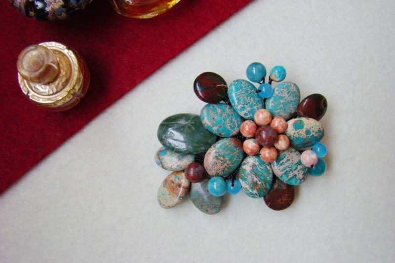 """""""Flori de piatră-Bijoux"""" albumul I-bijuterii artizanale marca Didina Sava - Pagina 6 Colie187"""