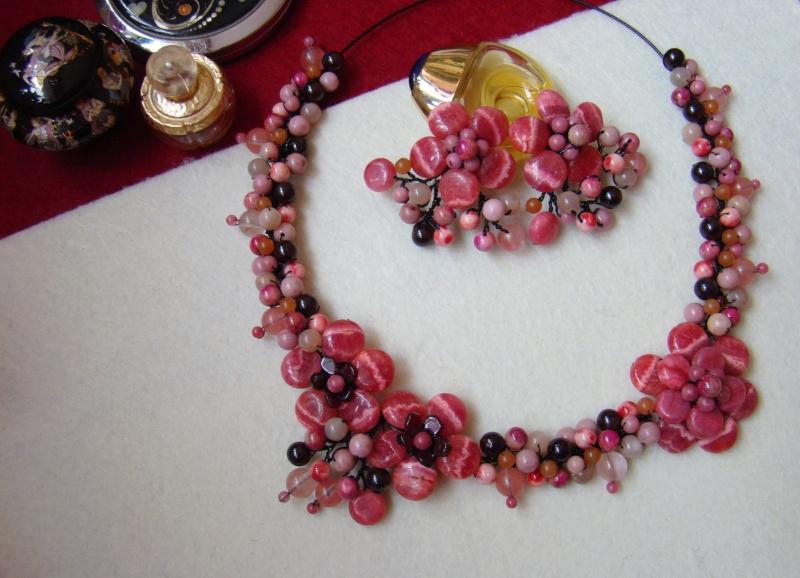 """""""Flori de piatră-Bijoux"""" albumul I-bijuterii artizanale marca Didina Sava - Pagina 6 Colie198"""
