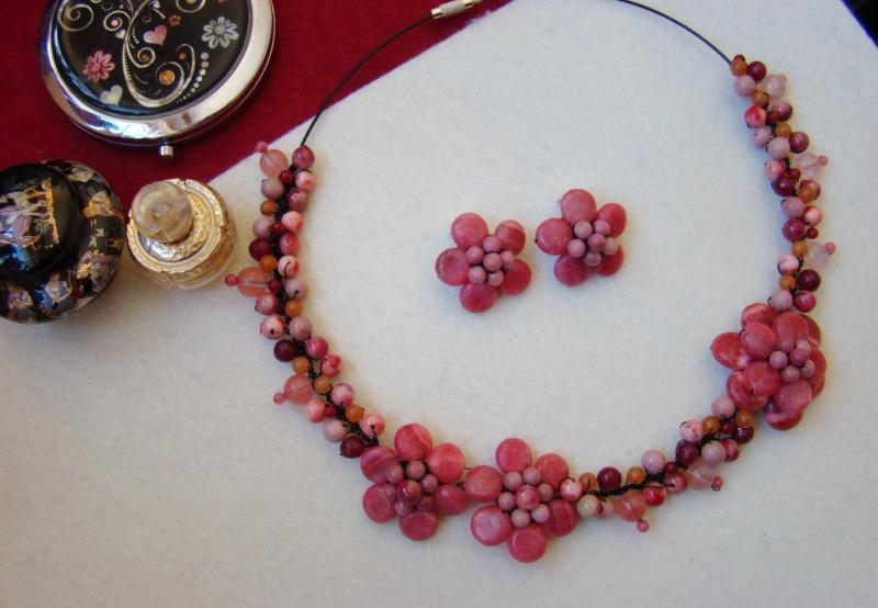 """""""Flori de piatră-Bijoux"""" albumul I-bijuterii artizanale marca Didina Sava - Pagina 6 Colie201"""