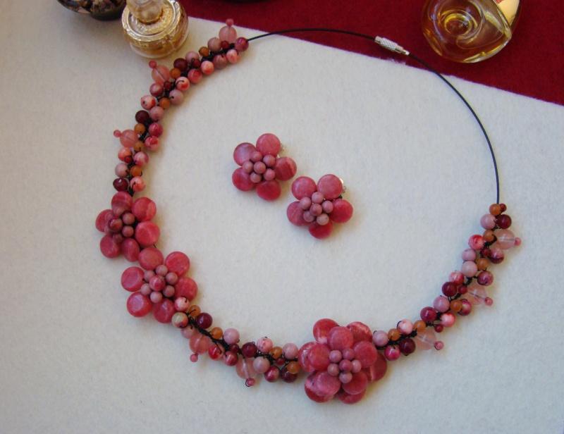 """""""Flori de piatră-Bijoux"""" albumul I-bijuterii artizanale marca Didina Sava - Pagina 6 Colie202"""