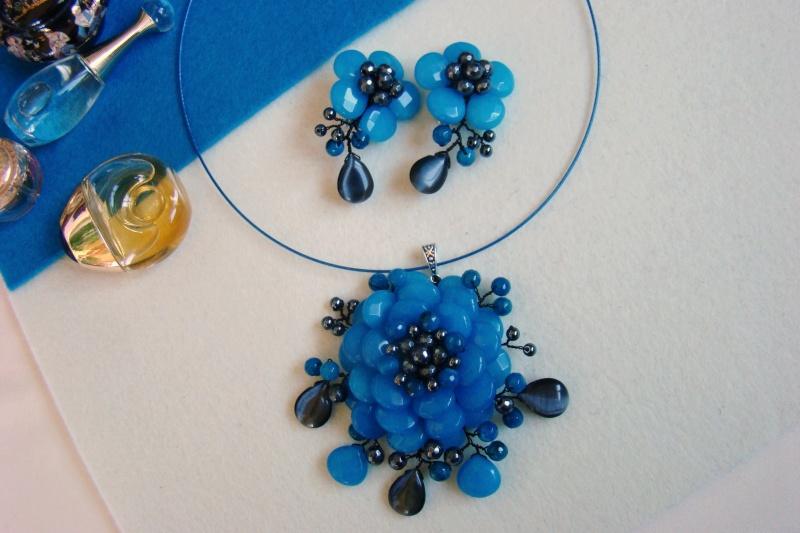 """""""Flori de piatră-Bijoux"""" albumul I-bijuterii artizanale marca Didina Sava - Pagina 7 Colier64"""