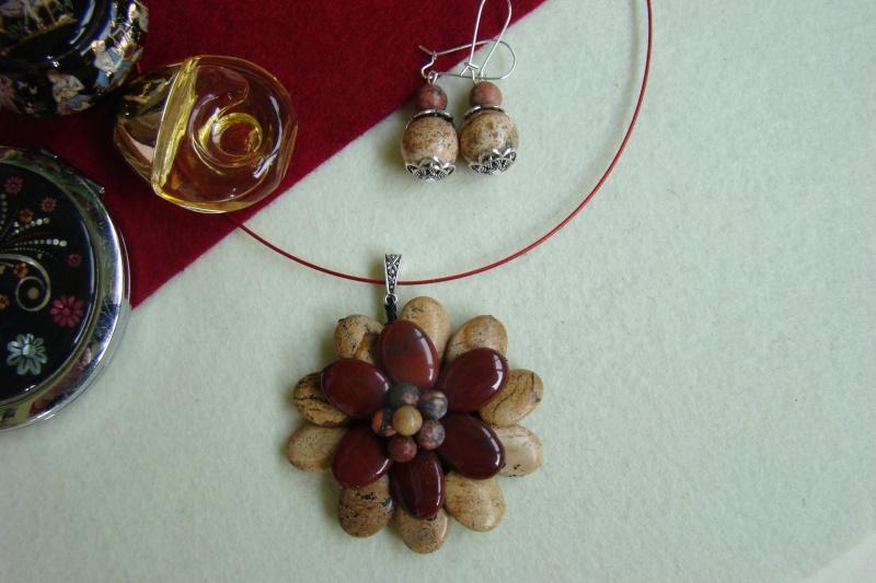 """""""Flori de piatră-Bijoux"""" albumul I-bijuterii artizanale marca Didina Sava - Pagina 7 Colier77"""