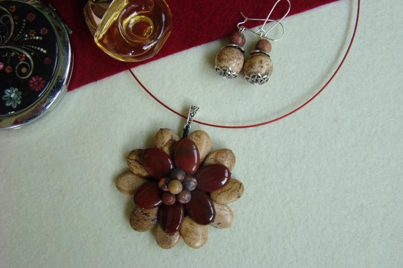 """""""Flori de piatră-Bijoux"""" albumul I-bijuterii artizanale marca Didina Sava - Pagina 7 Colier78"""