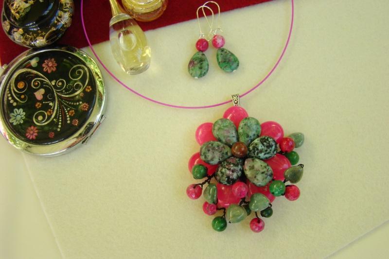 """""""Flori de piatră-Bijoux"""" albumul I-bijuterii artizanale marca Didina Sava - Pagina 7 Colier84"""