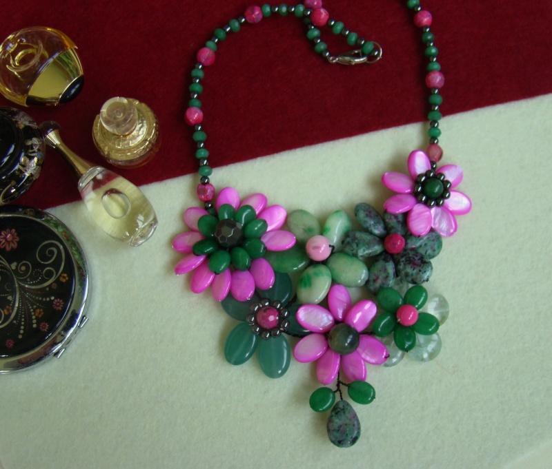 """""""Flori de piatră-Bijoux"""" albumul I-bijuterii artizanale marca Didina Sava - Pagina 7 Colier86"""