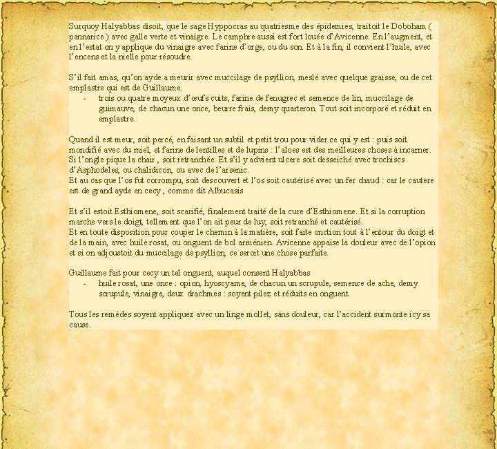 ( Doctrine Seconde ) QUATRIESME CHAPITRE  Des apostemes de l'espaule et des bras P20210