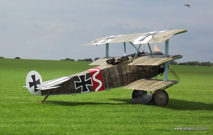 Fokker Dr.I 556/17 – Jasta 6 – Mars 1918 1/48 (+ dio) 556-1713