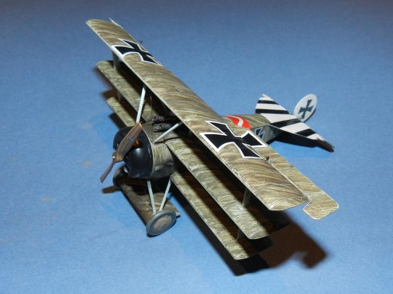 Fokker Dr.I 556/17 – Jasta 6 – Mars 1918 1/48 (+ dio) A00211